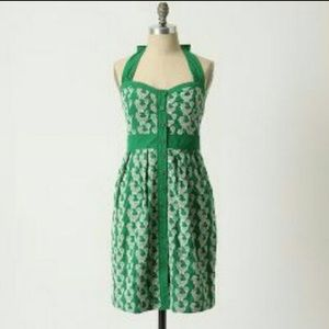 Anthropologie HTF Rooster Floreat Pinup Dress